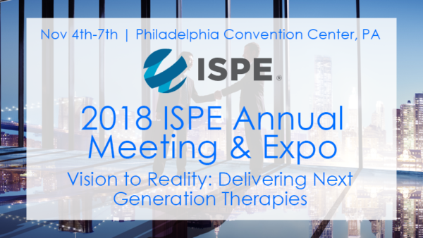 ISPE Annual Meeting Booth