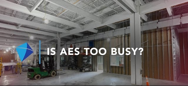 Is AES Too Busy?