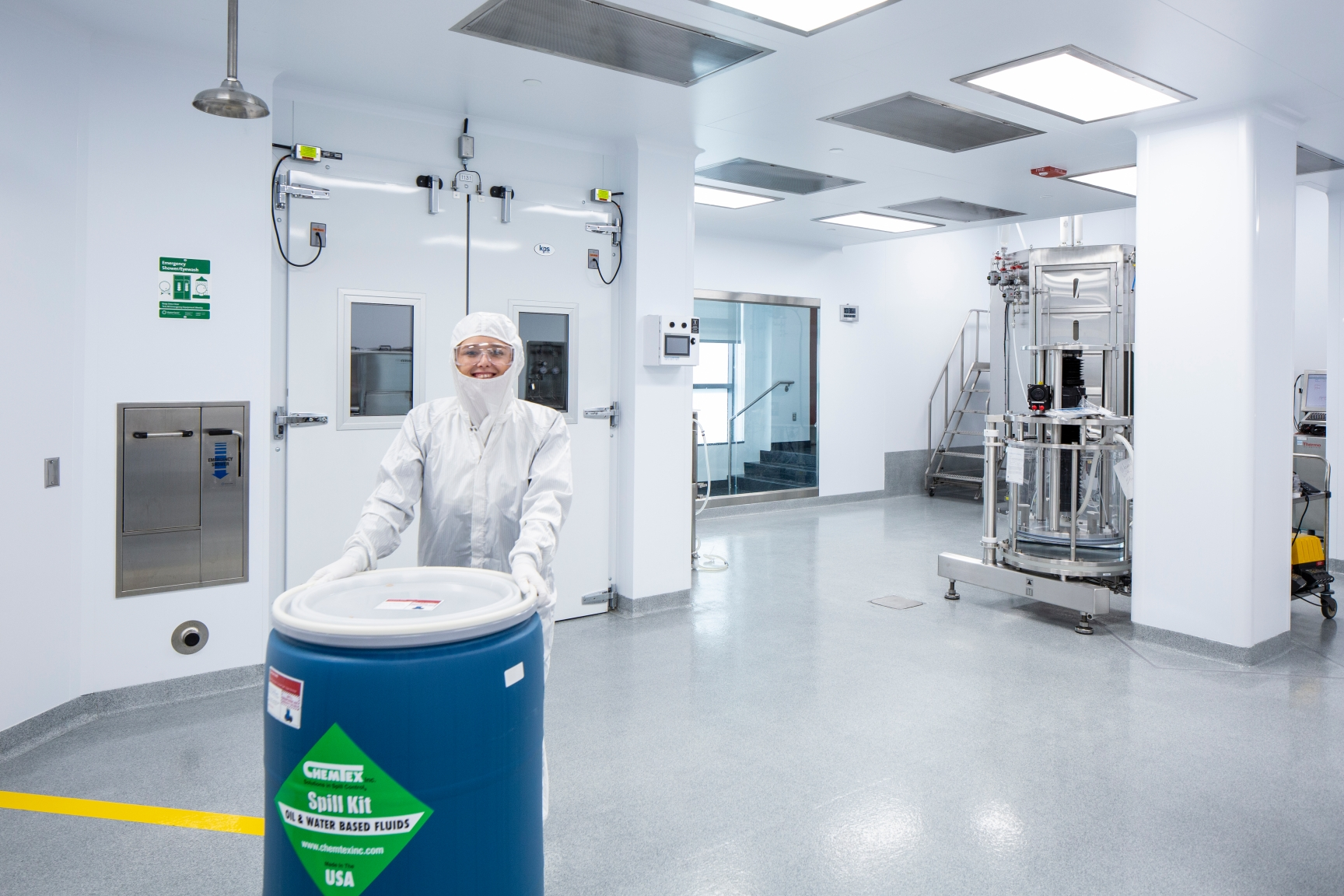 Superior Biopharmaceutical Manufacturing Facilities Prioritize Cleaning & Disinfection During Cleanroom Design