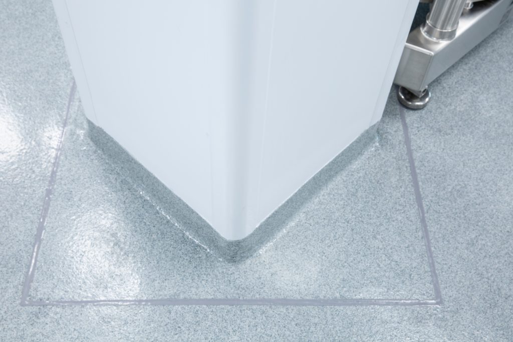Cleanroom floor solutions from AES Clean Technology