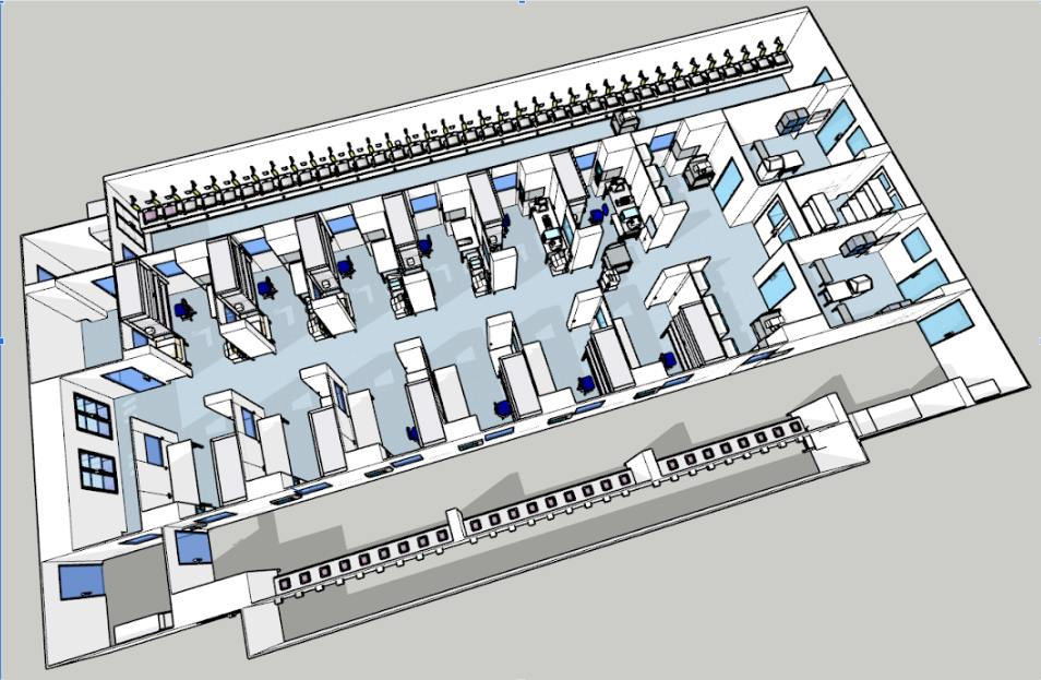 cell and gene therapy modular cleanroom floorplan