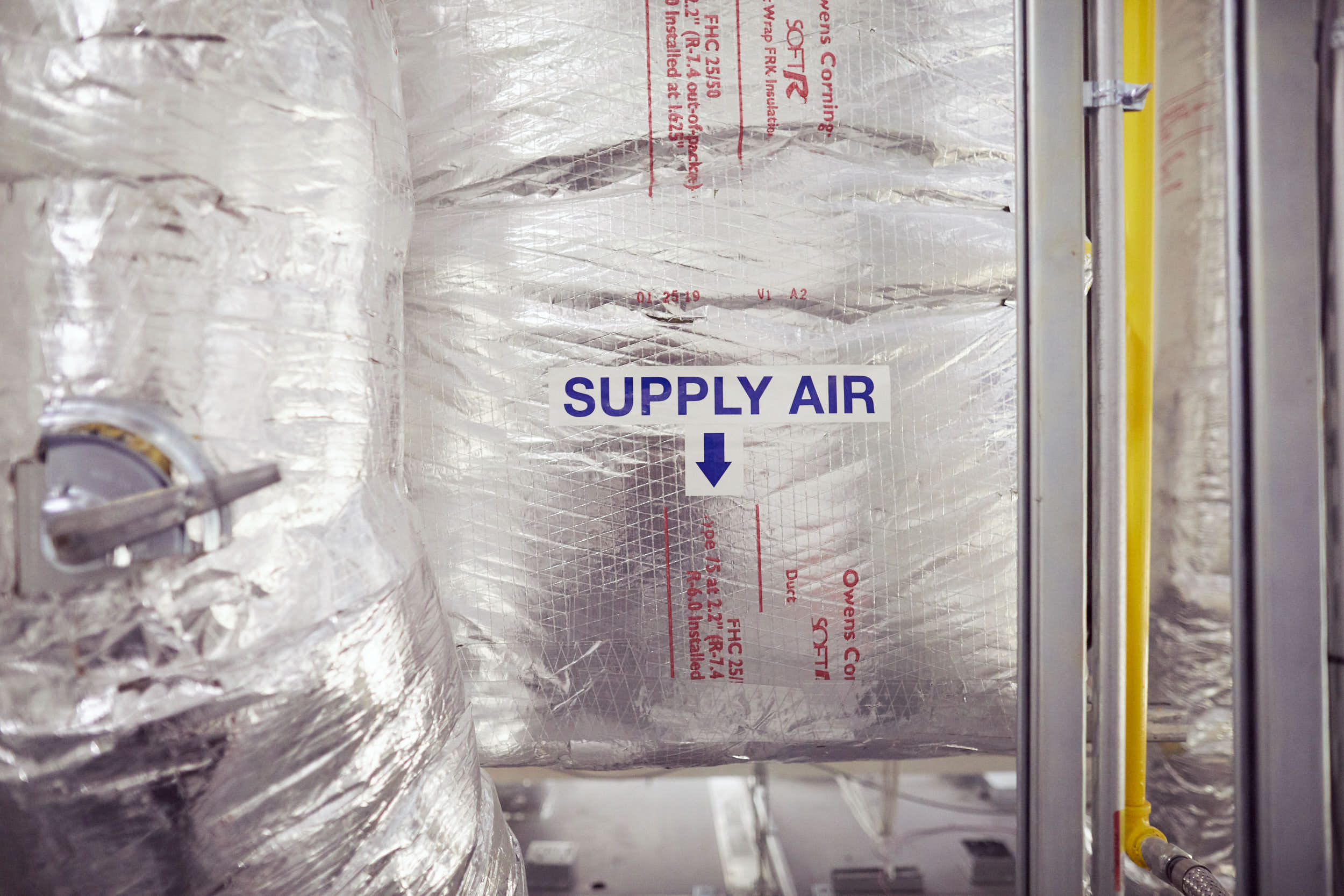 cleanroom design supply air system
